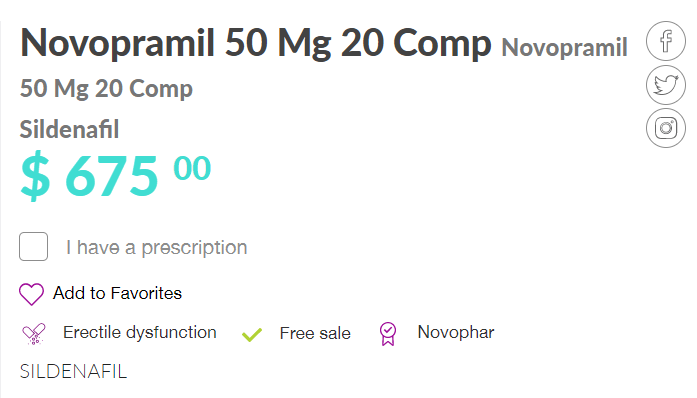 How to Buy Novopramil Online